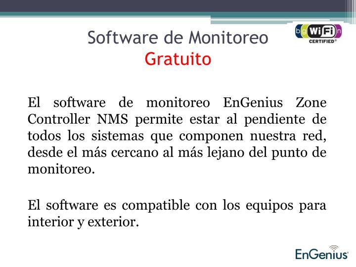 Software de Monitoreo