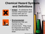 chemical hazard symbols and definitions2