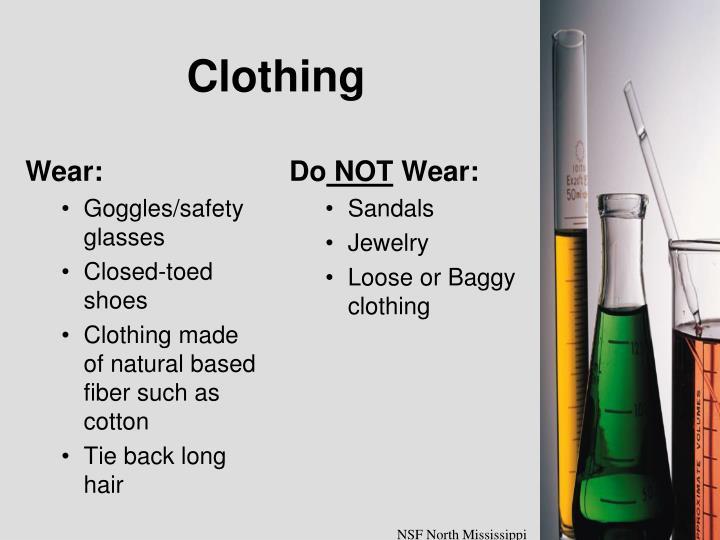 Wear: