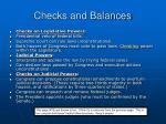 checks and balances1