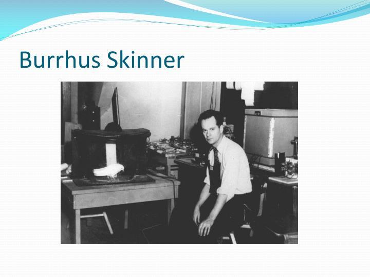 Burrhus Skinner