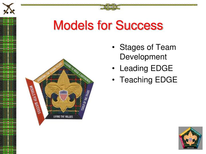 Models for Success