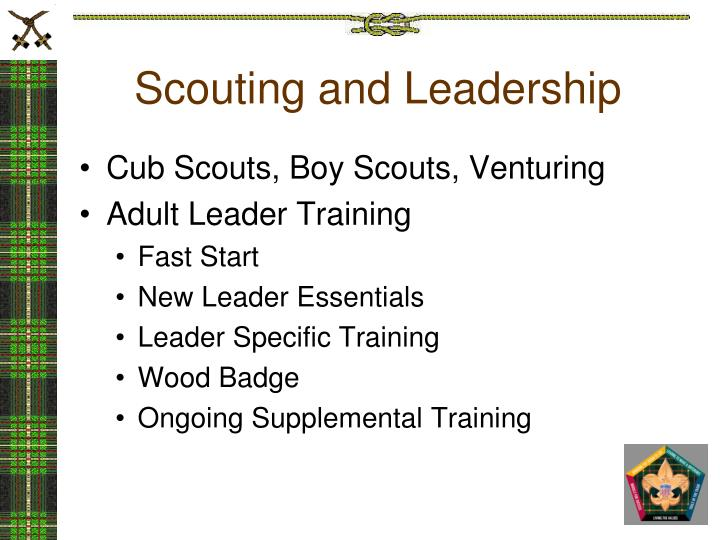 Scouting and leadership