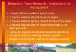 bibbulmun track research implications for management4