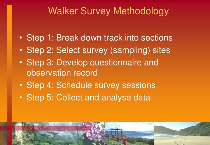 Walker Survey Methodology