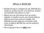 what is radcab