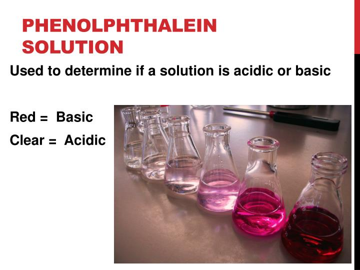 Phenolphthalein solution