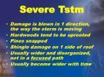 severe tstm