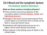 33 2 blood and the lymphatic system circulatory system diseases1