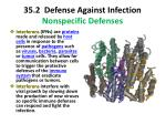 35 2 defense against infection nonspecific defenses5