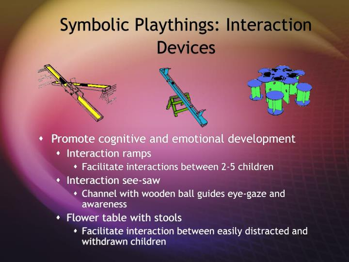 Symbolic Playthings: Interaction Devices