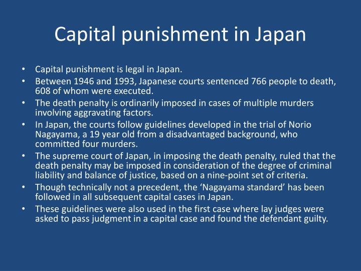 Capital punishment in Japan