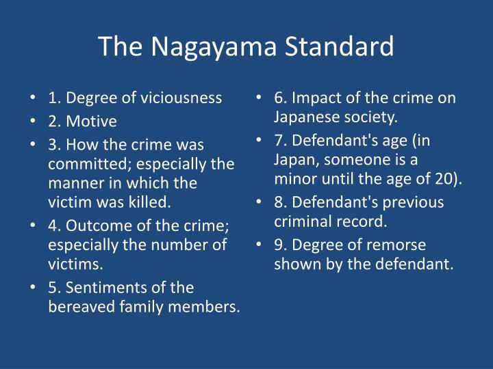 The Nagayama Standard