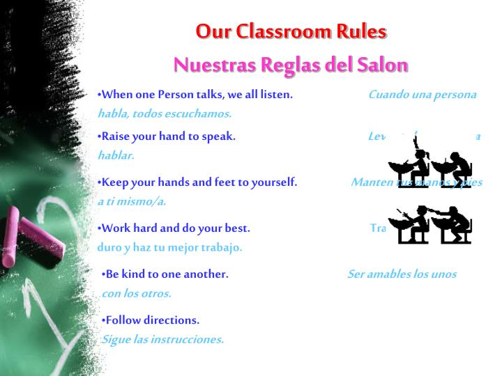 Our Classroom Rules