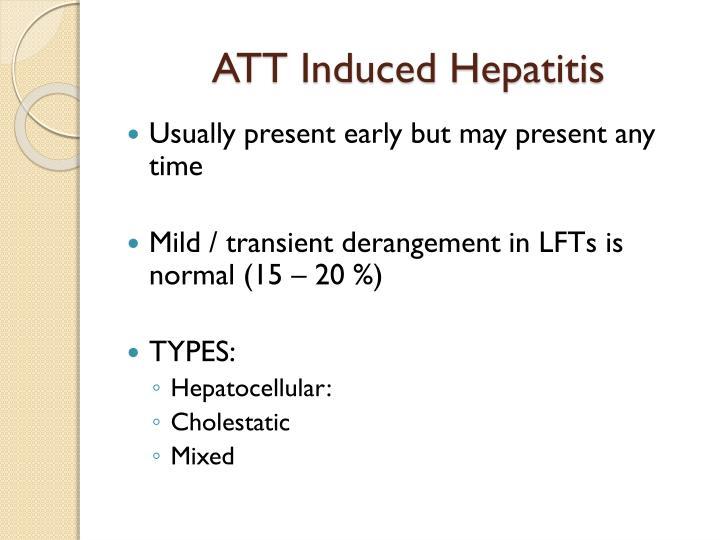 ATT Induced Hepatitis