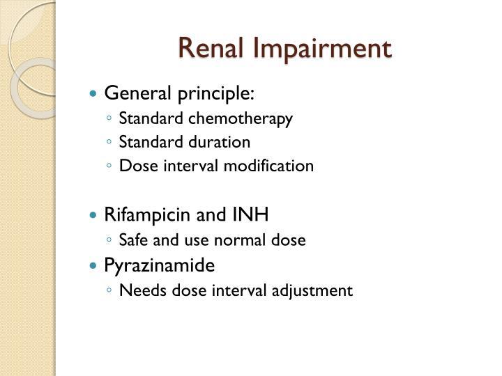 Renal Impairment