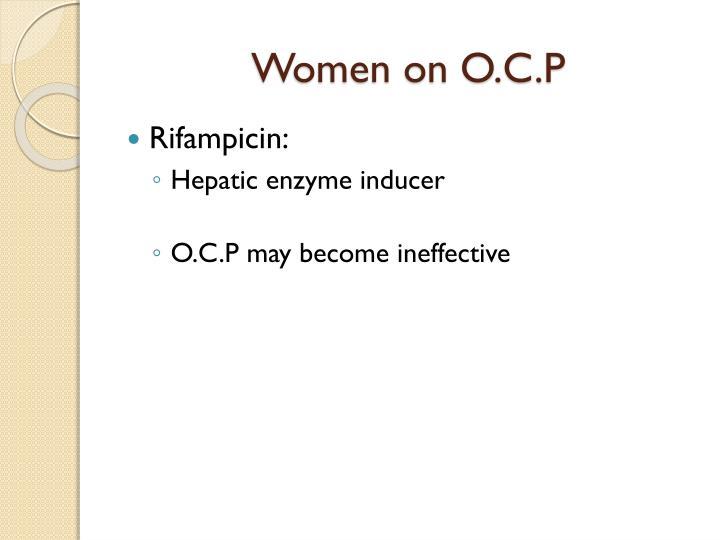 Women on O.C.P