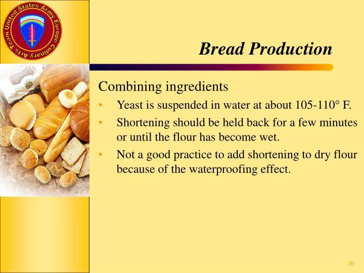 Bread Production