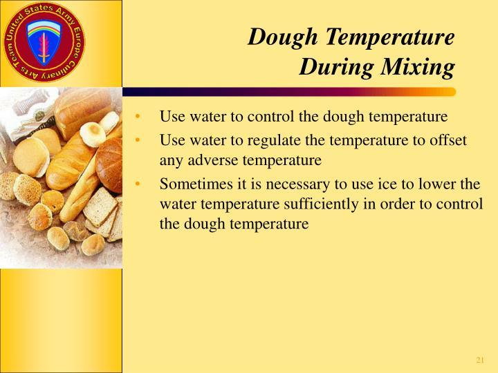 Dough Temperature