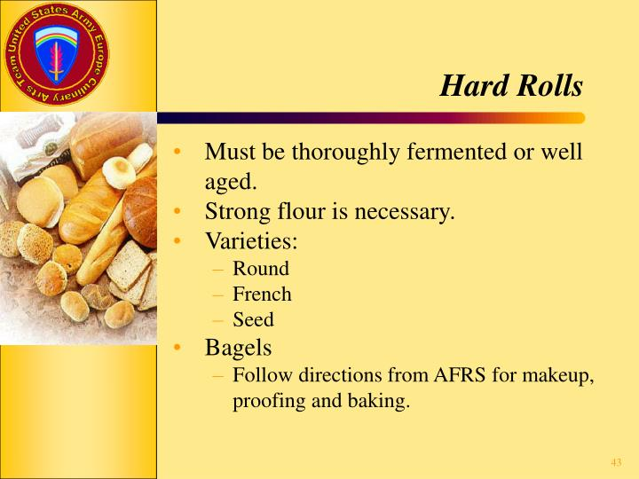 Hard Rolls