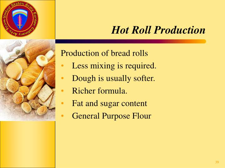 Hot Roll Production