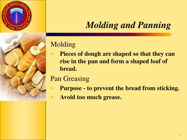 Molding and Panning