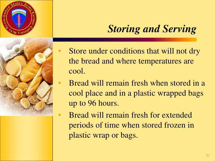 Storing and Serving