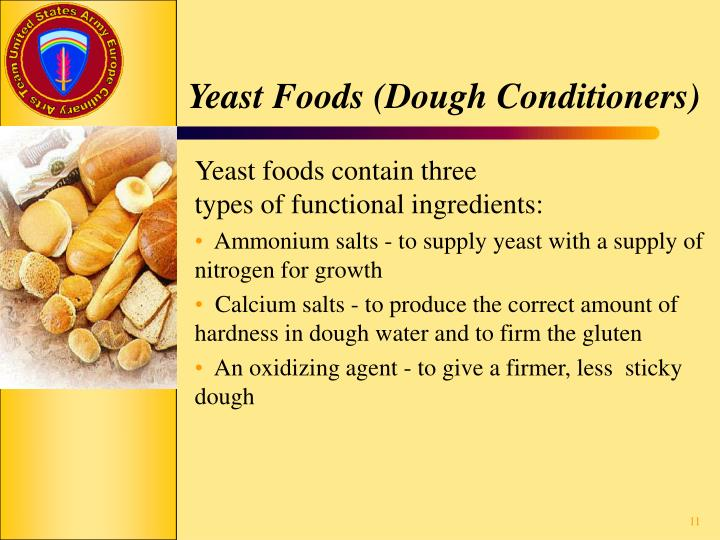 Yeast Foods (Dough Conditioners)