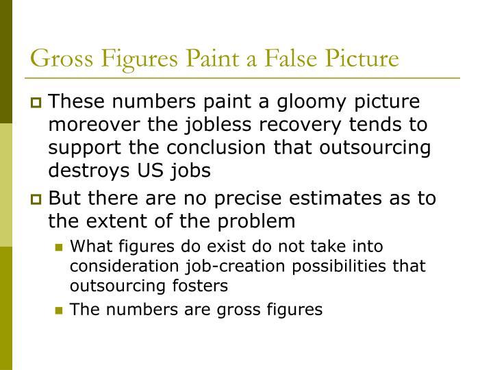 Gross Figures Paint a False Picture