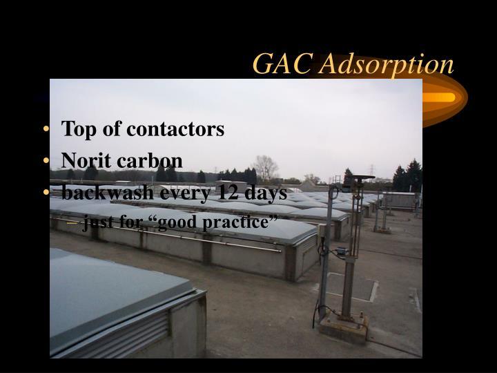 GAC Adsorption