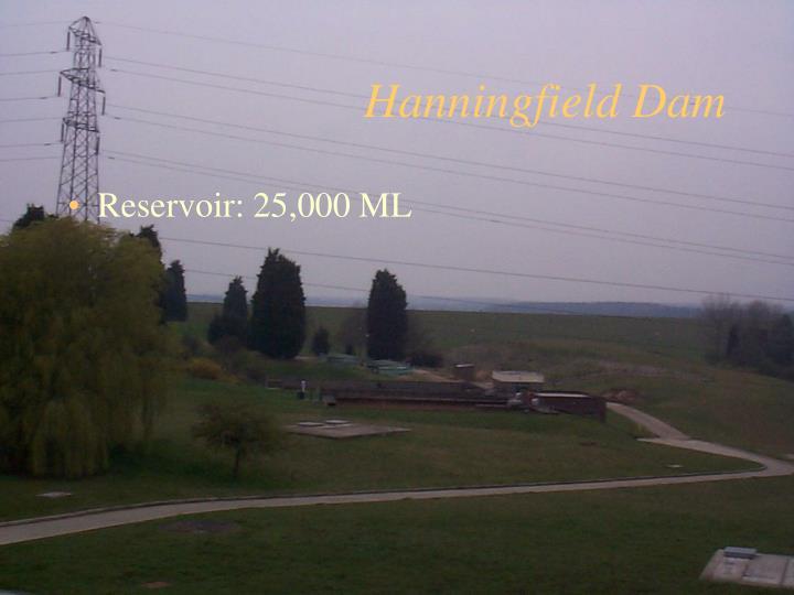 Hanningfield Dam