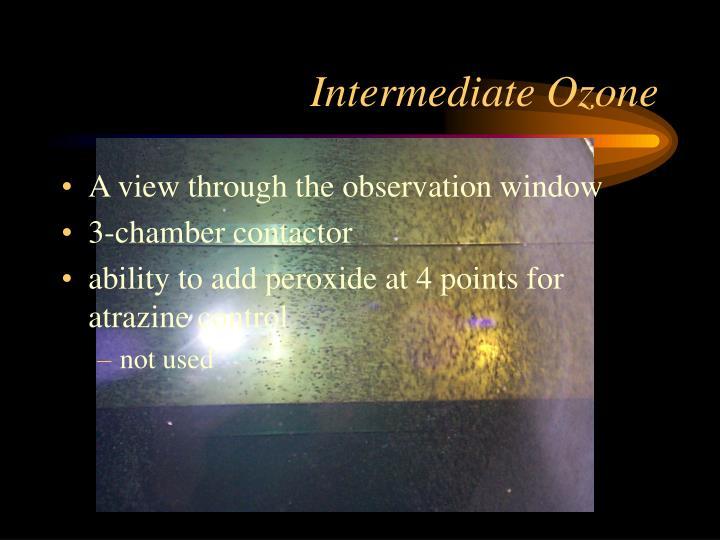 Intermediate Ozone