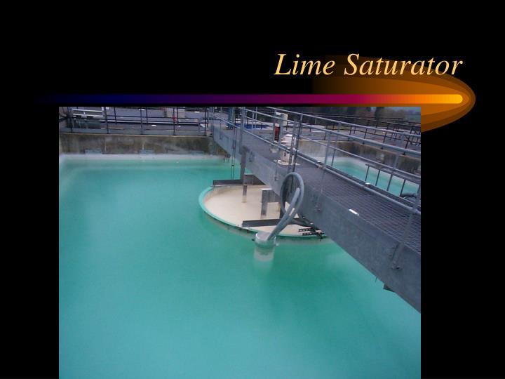 Lime Saturator