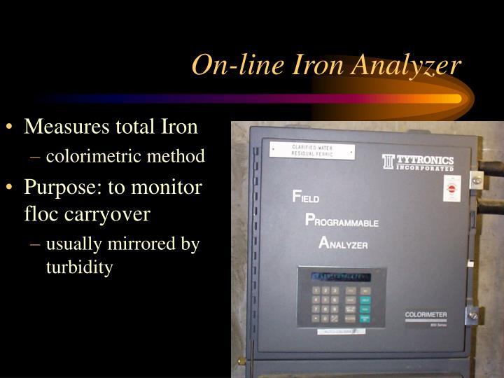 On-line Iron Analyzer