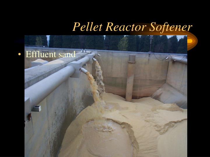Pellet Reactor Softener