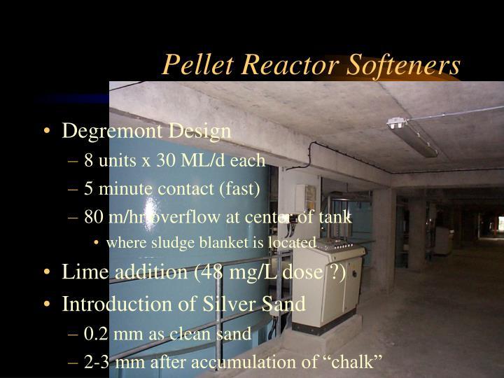 Pellet Reactor Softeners