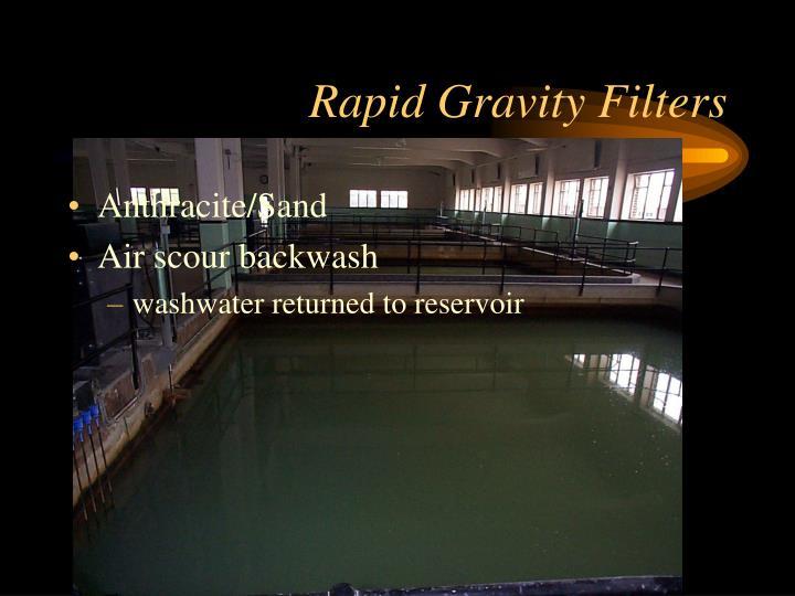 Rapid Gravity Filters