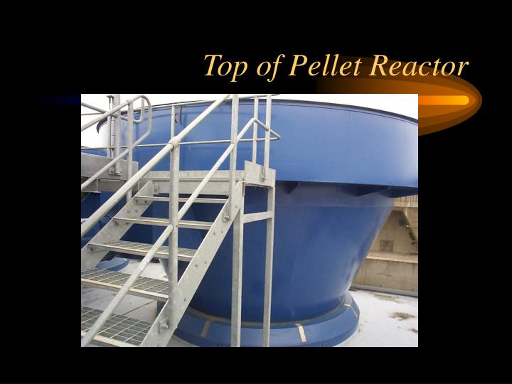 Top of Pellet Reactor