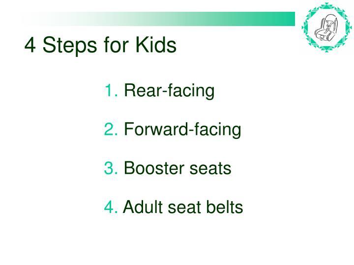 4 Steps for Kids