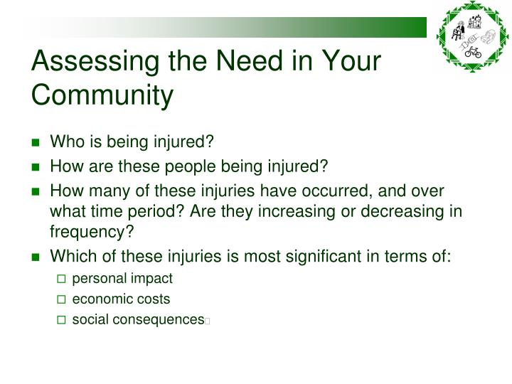 Assessing the Need in Your Community