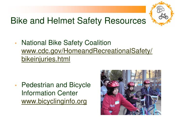 Bike and Helmet Safety Resources