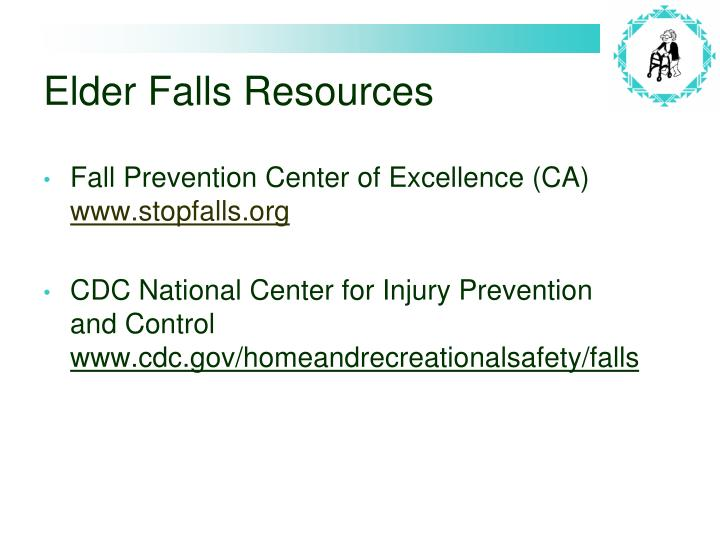 Elder Falls Resources