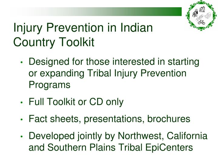 Injury Prevention in Indian Country Toolkit
