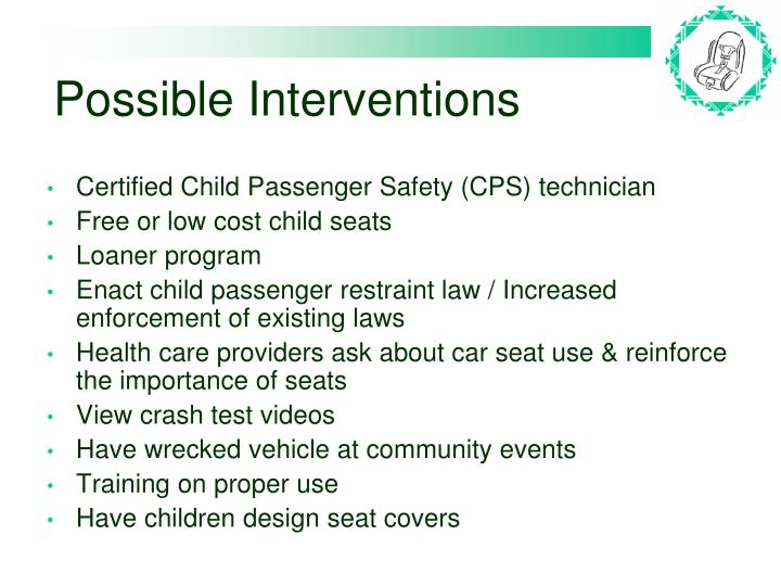 Possible Interventions