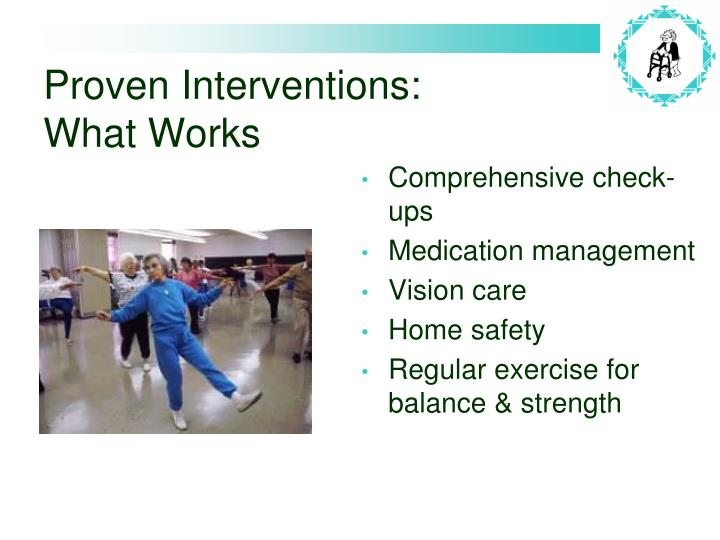 Proven Interventions: