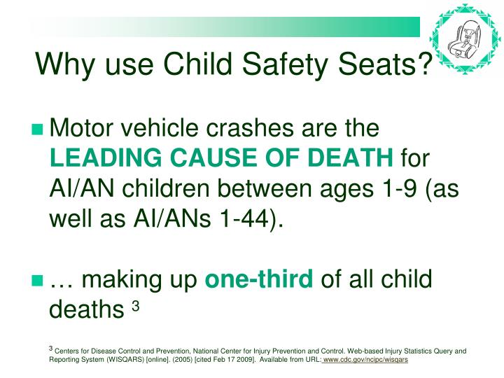 Why use Child Safety Seats?