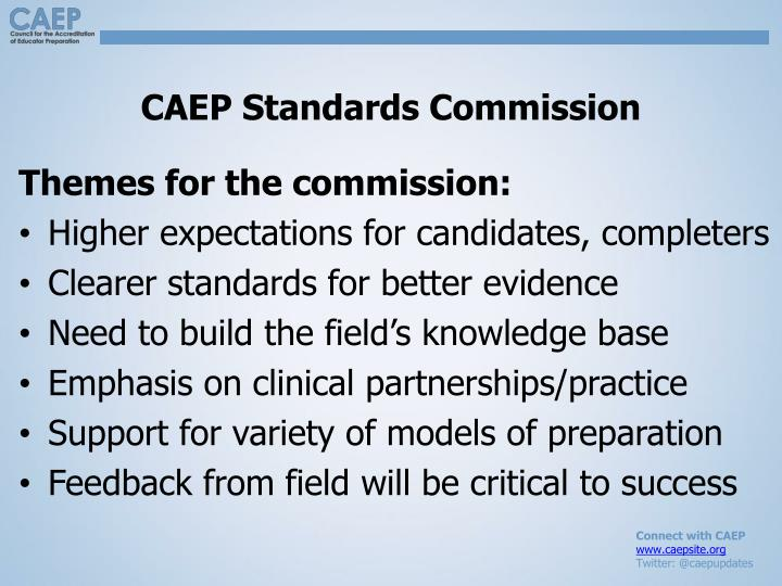 CAEP Standards Commission