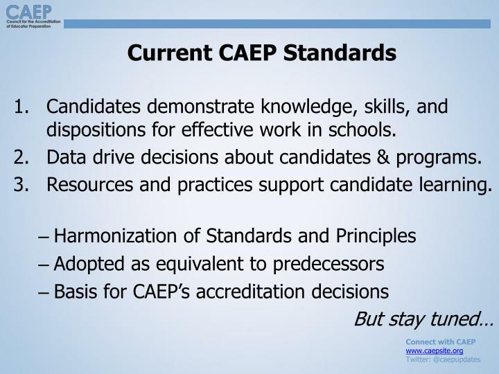 Current CAEP