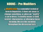 nouns pre modifiers2