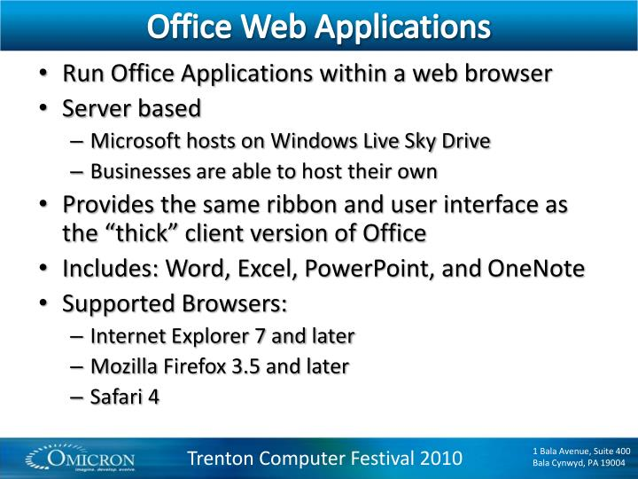 Office Web Applications